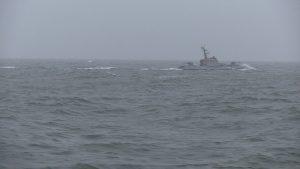 В Азовському морі стріляли катери ВМС Україна під стеженням ФСБ