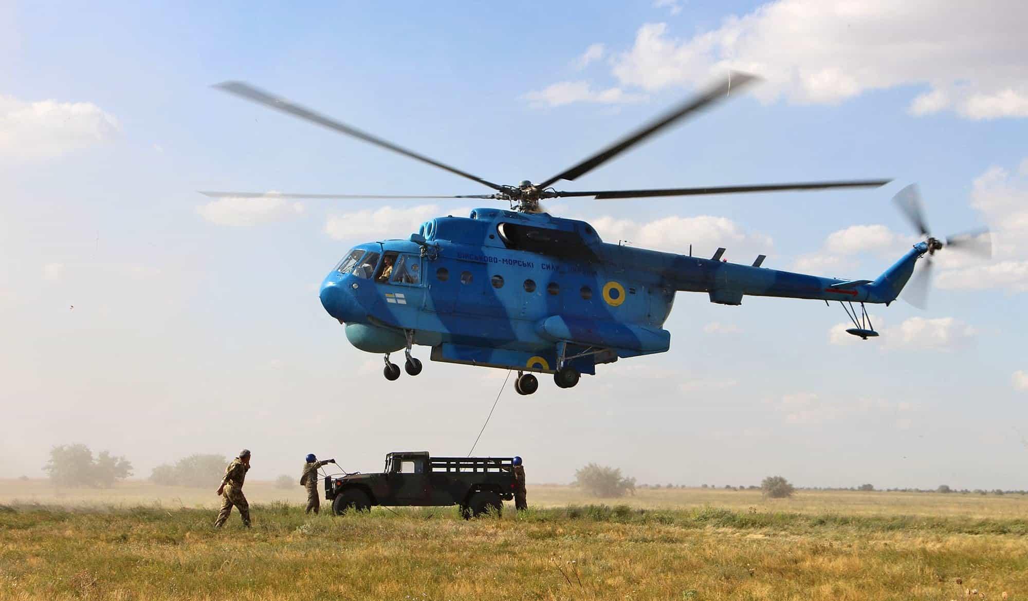 ВМС збирається придбати лопаті для Мі-14