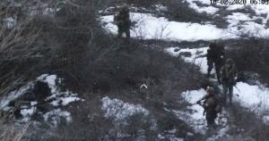 Опубліковано відео штурму бойовиками позиції ЗСУ