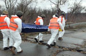 Українська сторона передала тіло загиблого бойовика