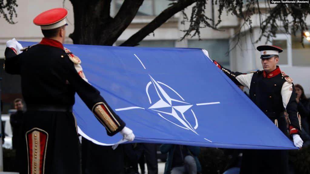 Прапор НАТО. Фото з відкритих джерел