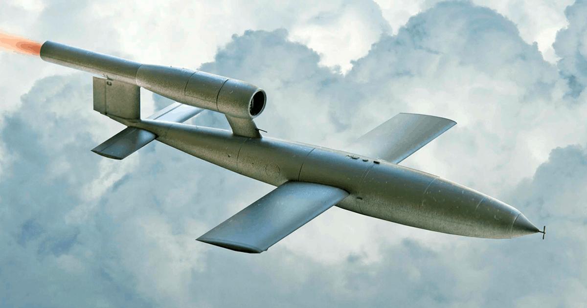 Перша крилата ракета Fi-103 «Фау-1»