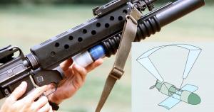 Армія США запатентувала дрон для підствольного гранатомета
