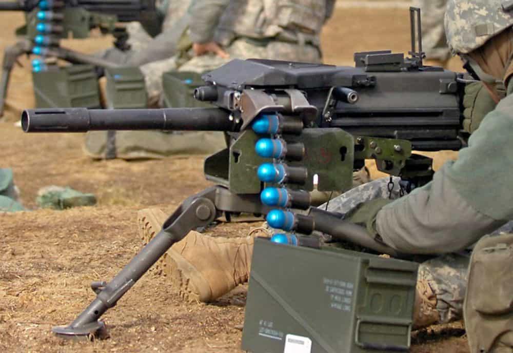 Mk 19 grenade launcher. Фото з вільних джерел