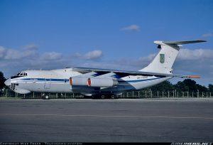 Військовий Іл-76МД вилетів до КНР по швидкі тести COVID19