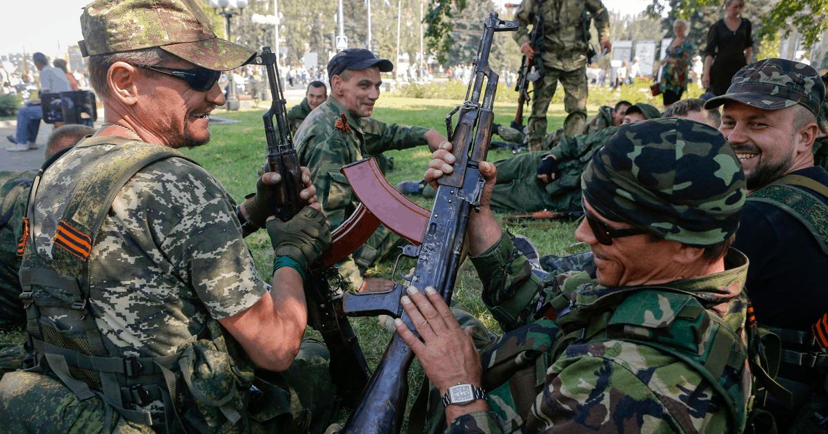Бойовики незаконних збройних формувань