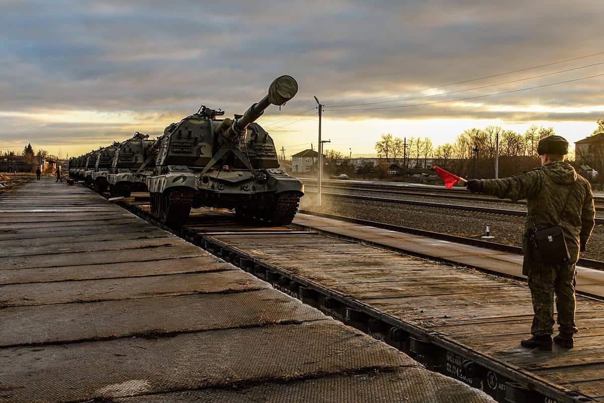 2С19М1 «Мста-С» 144-ї дивізії