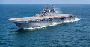 Флот США поповниться легким авіаносцем USS Tripoli