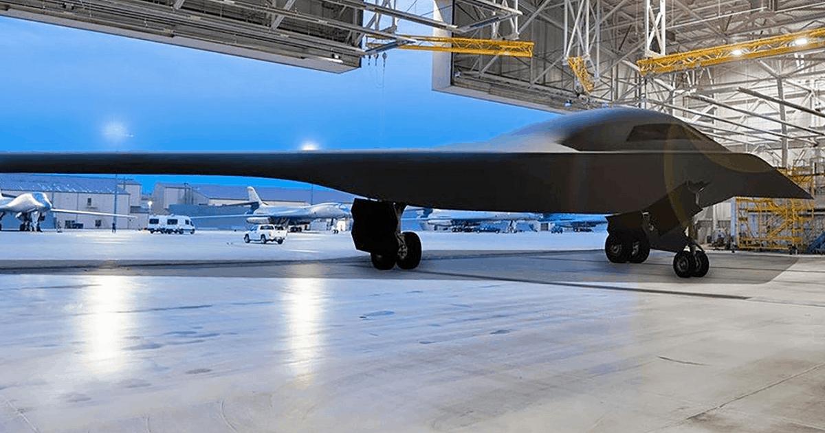 Northrop Grumman B-21 Raider. Неофіційний приклад.