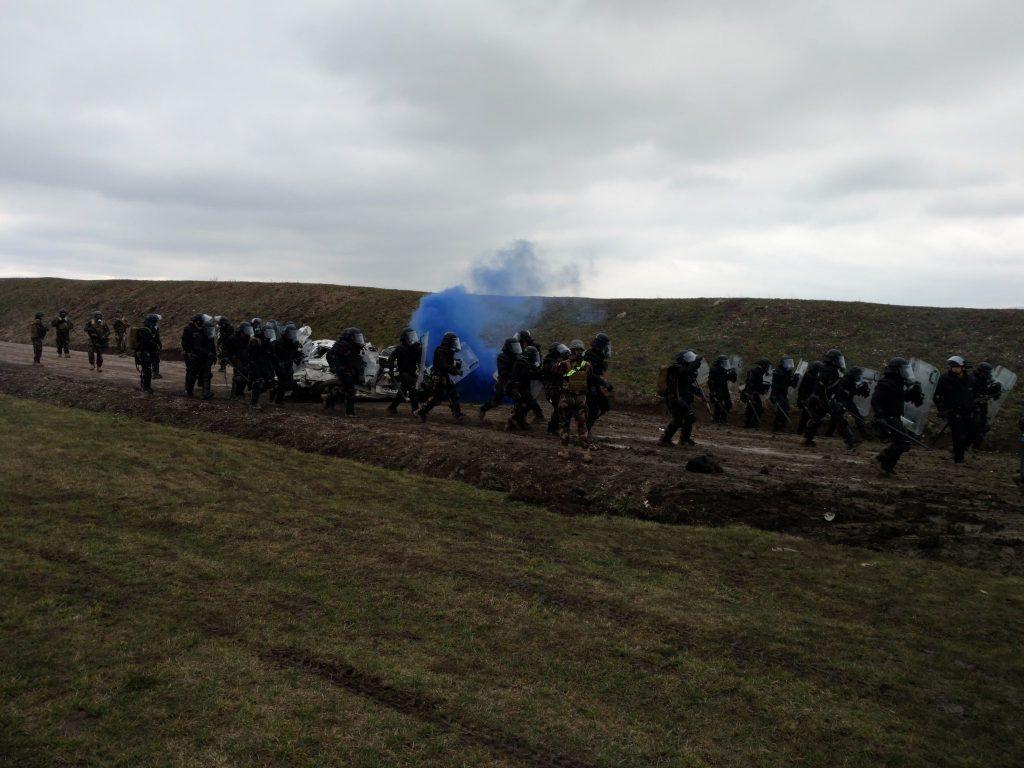 Спільні навчання миротворців. Фото: Мініоборони України