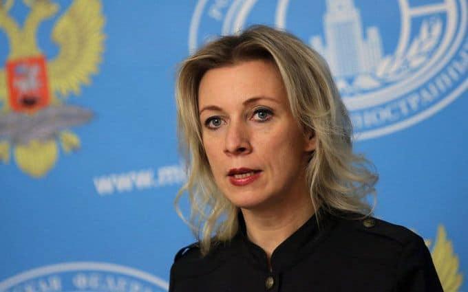 Представник МЗС Росії Марія Захарова