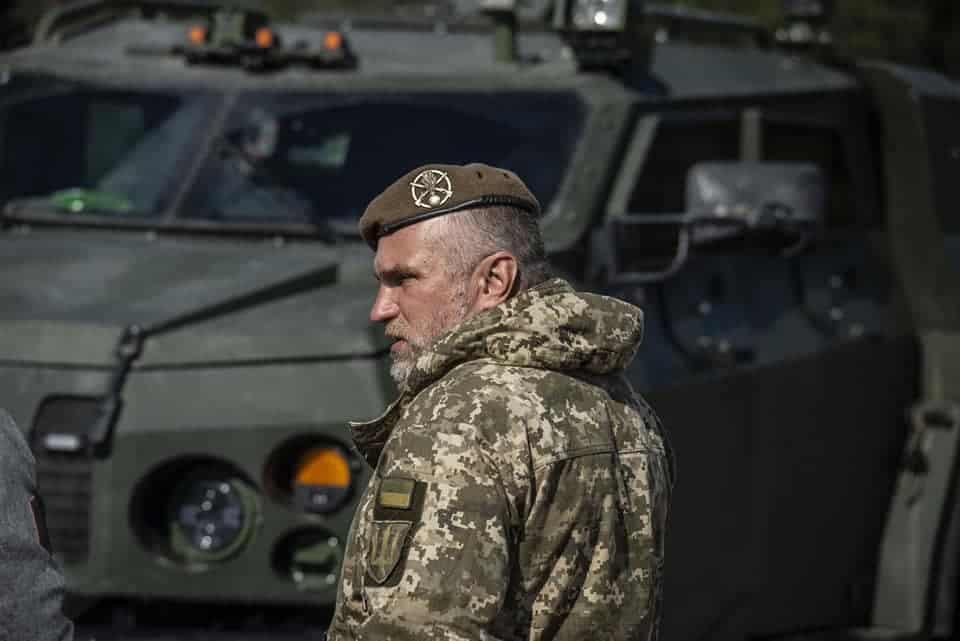 """""""Новатор"""" у 93 бригаді. Березень 2020 року. Фото: Український Тиждень"""