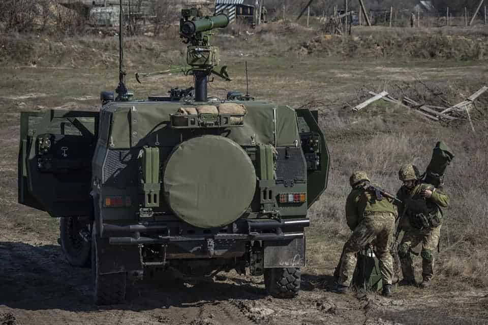 """""""Новатор"""" у 93 бригаді. Березень 2020 року. Фото: """"Український Тиждень"""""""