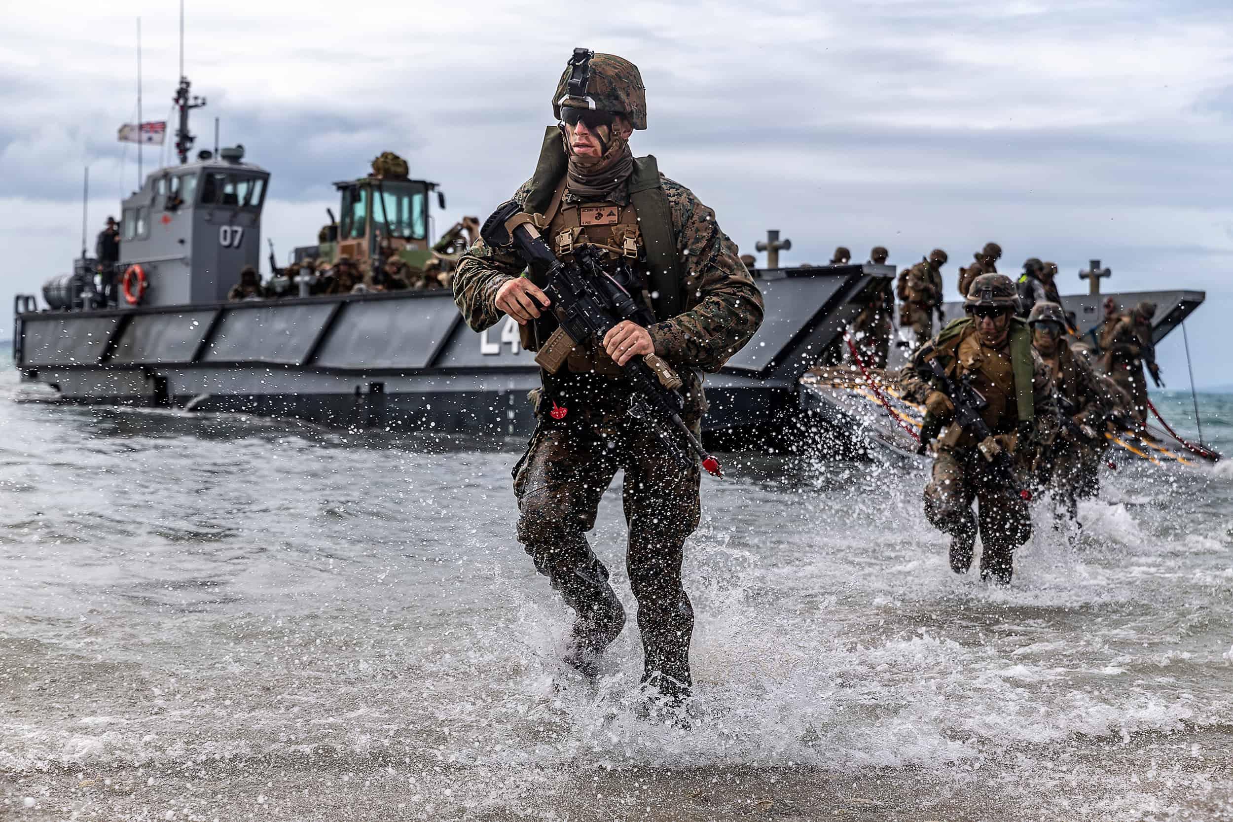 Американські морські піхотинці на навчаннях в Австралії