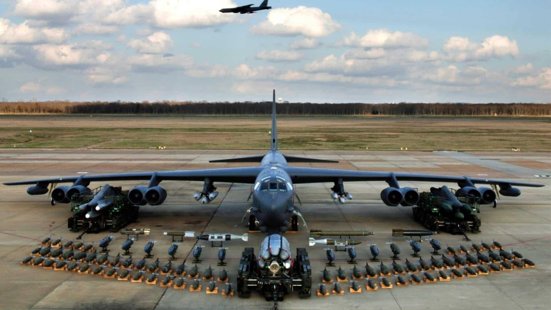 Boeing B-52 Stratofortress. Фото з вільних джерел.