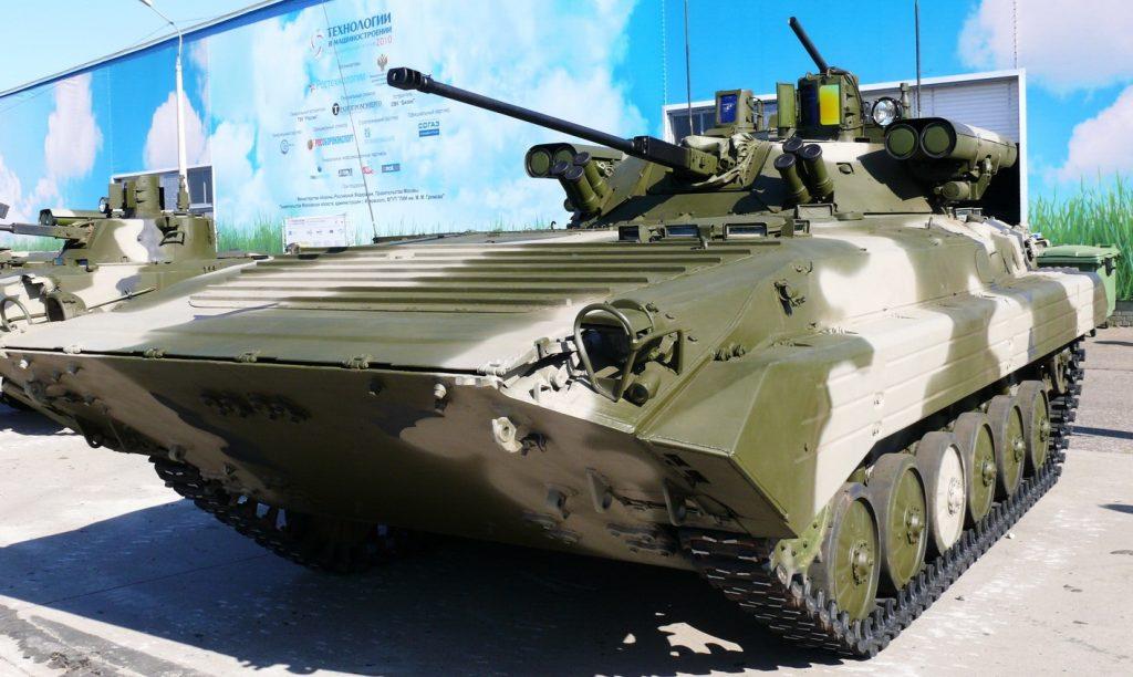 БМП-2М. Фото з вільних джерел.