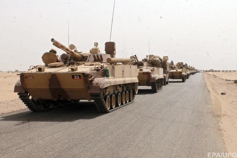 БМП-3 під час військової операції в Ємені