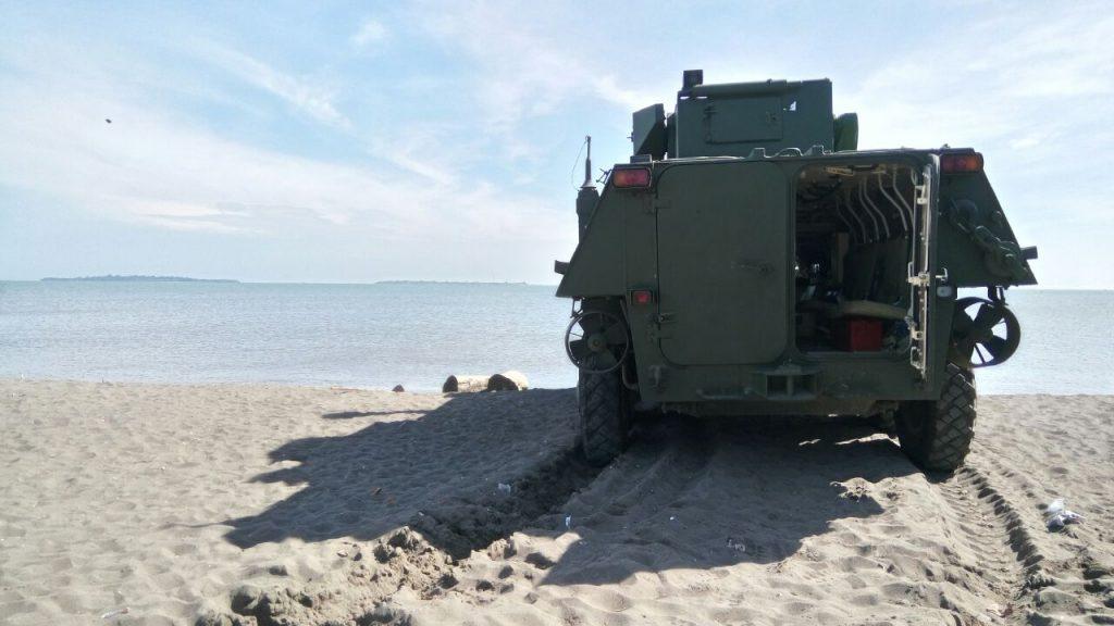 БТР-4М на випробуваннях в Індонезії