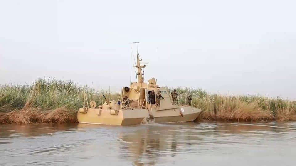 Броньований річковий катер проекту «Гюрза» прикордонників Узбекистану