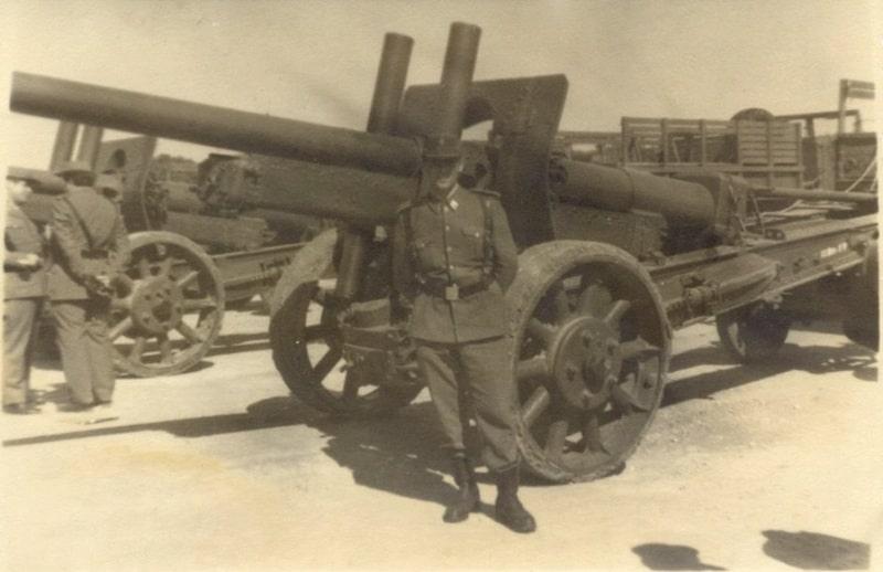Буксована гармата А-19 на озброєнні в Іспанії