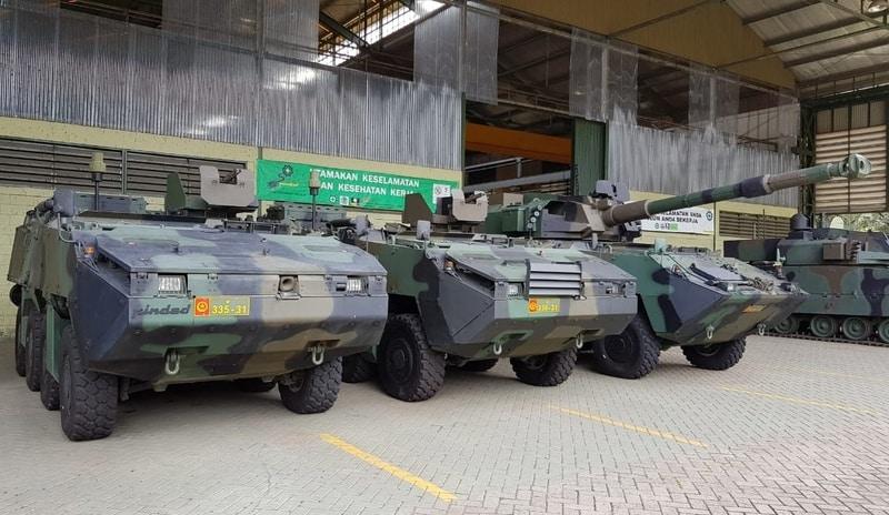 Чеські бронетранспортери Pandur II в Індонезії