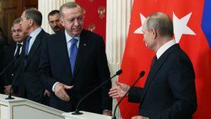 Війна Туреччини з сирійським режимом  – станом на 6 березня 2020 р. (перемир'я)