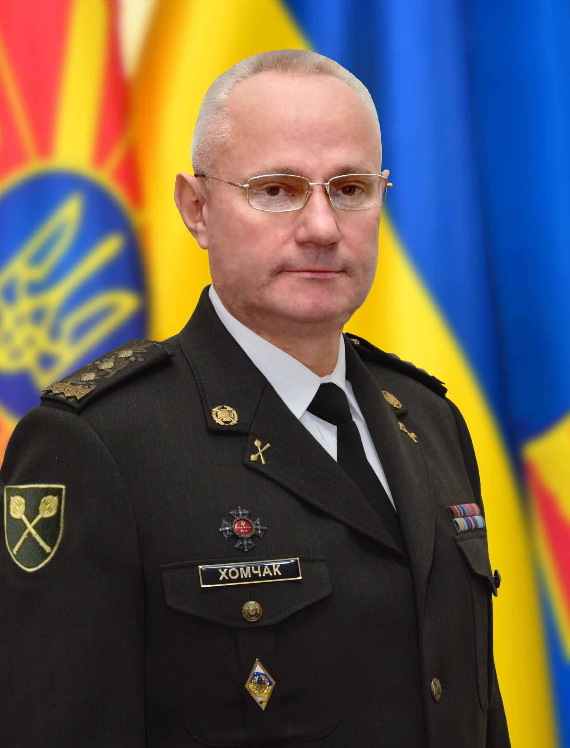 Генерал-полковник Руслан Хомчак