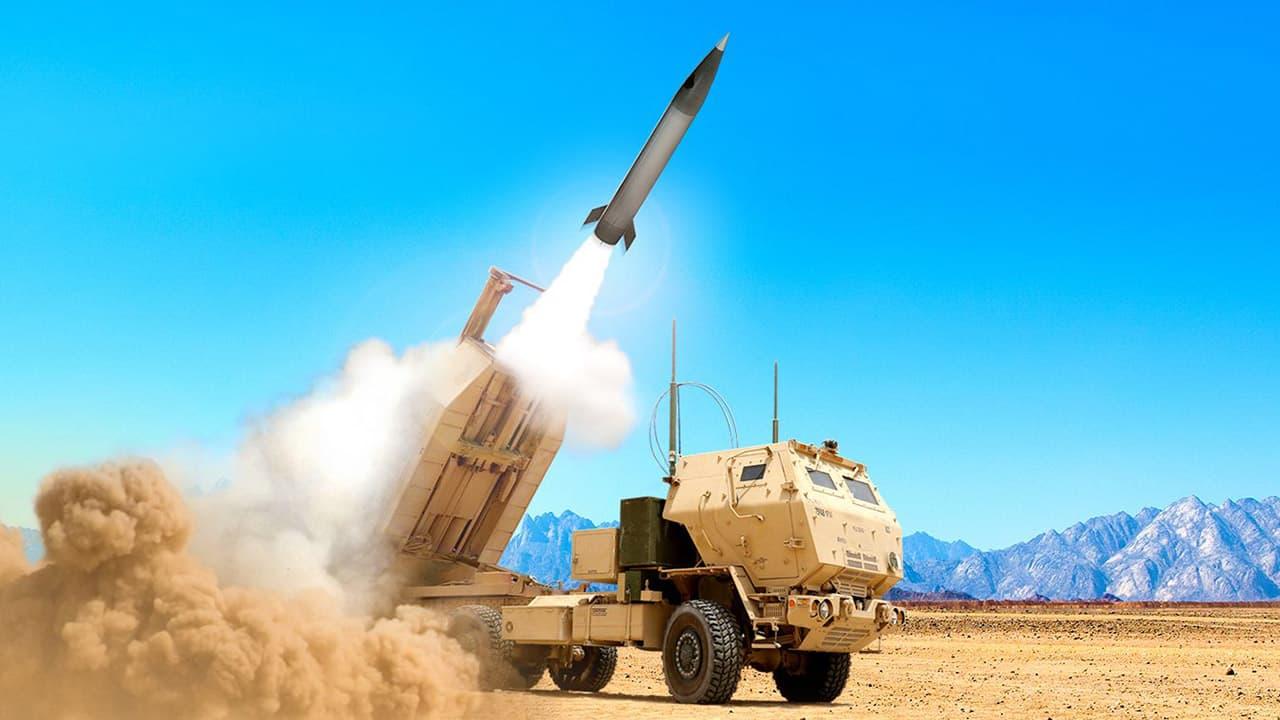 Ілюстрація пуску PrSM з ракетного комплексу HIMAR