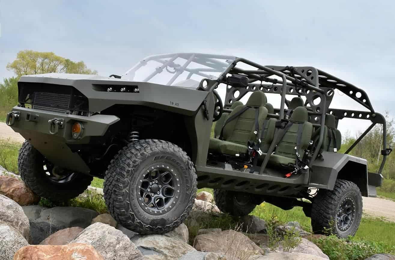 Машина розроблена GM Defense за програмою ISV