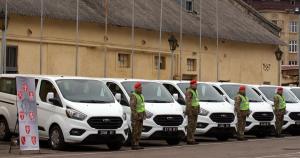 Канада передала партію Ford Transit для ВСП України