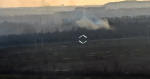 На відео зафіксували обстріл позицій ЗСУ