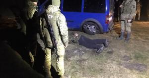Прикордонники з пострілами затримали порушника кордону
