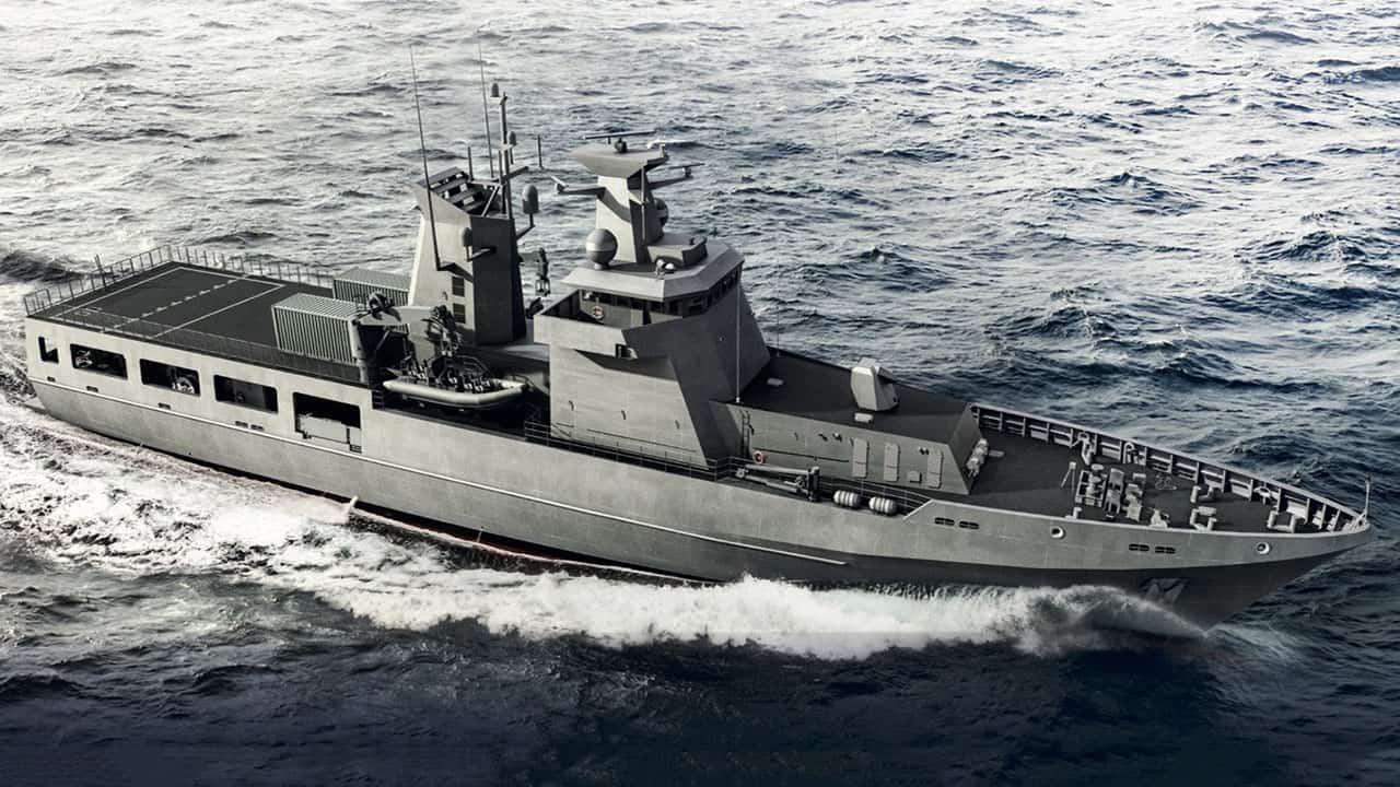 Патрульний корабель класу Arafura 1