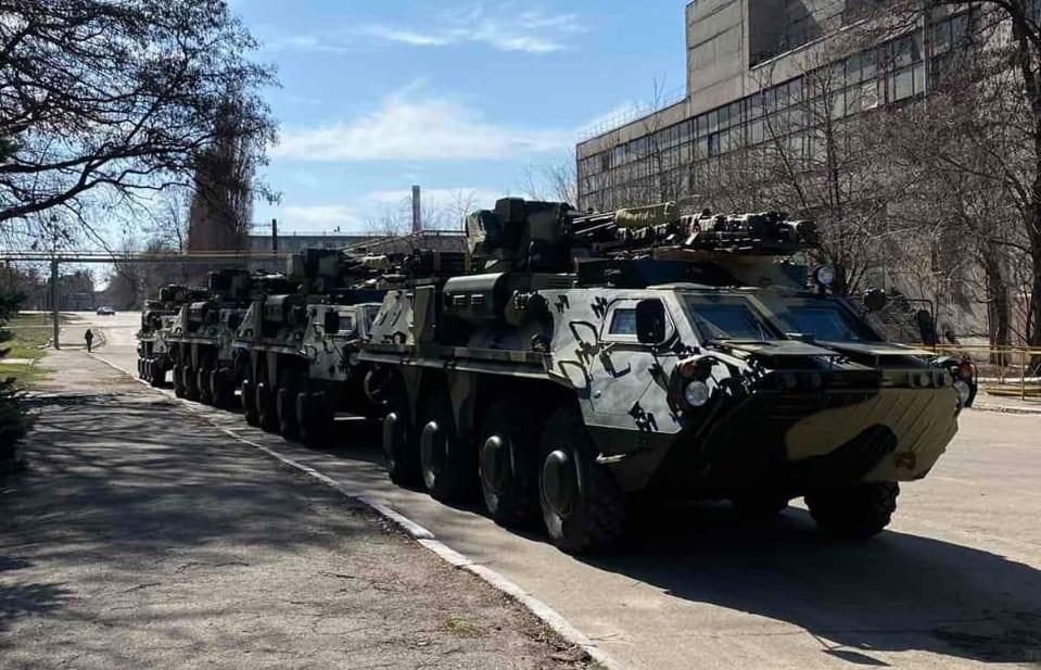 92 бригада отримала ще чотири БТР-4Е