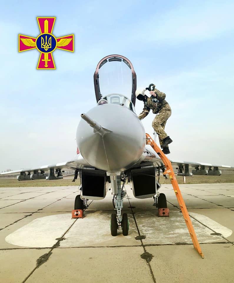 Переданий 27 березня 2020 року МіГ-29