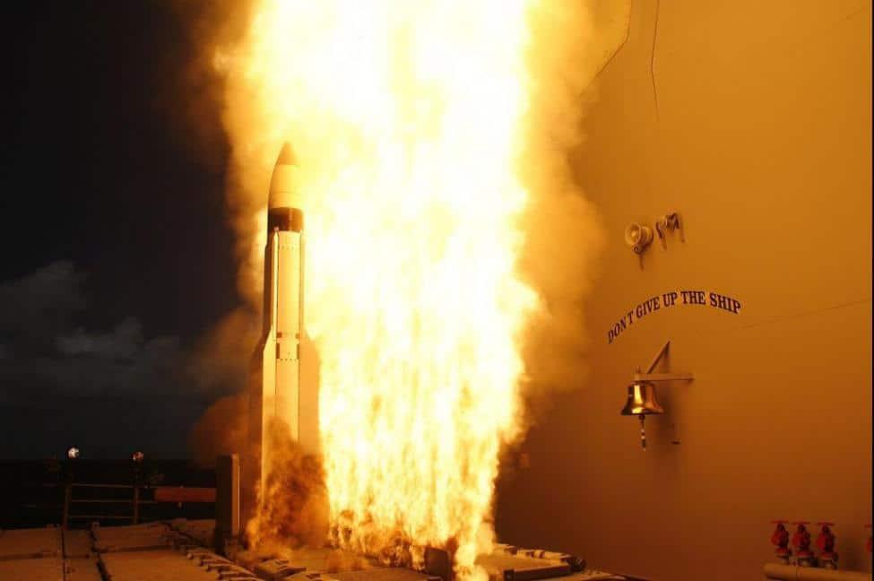 Ракета Standard Missile-3 (SM-3)