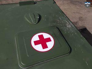 Бойовики обстріляли санітарний автомобіль