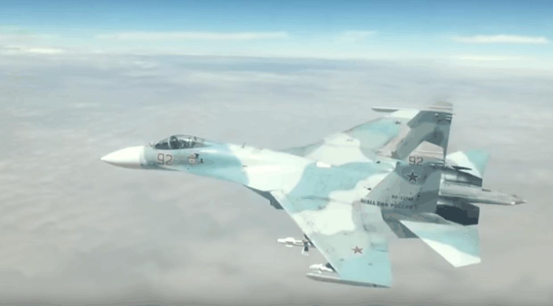 В Чорне море упав російський Су-27