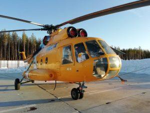 В Росії невідомі обстріляли гелікоптер