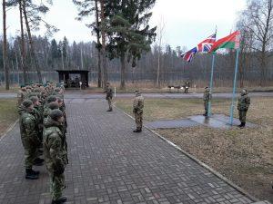 В Білорусі стартували спільні з Британією військові маневри