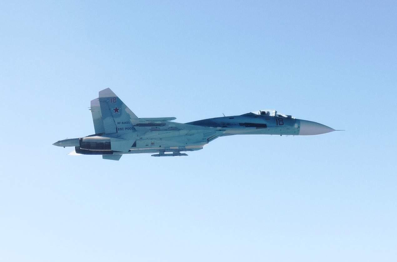 Су-27 ВКС Росії