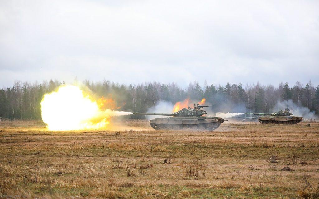 Танки Т-72Б3 76 дивізії ВДВ
