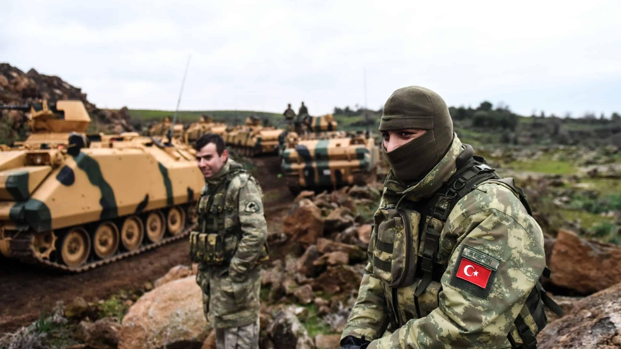 Турецькі військові на півночі Сирії