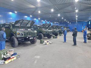«Українська бронетехніка» виготовила «Новатори» для НГУ