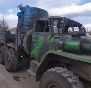 ЗСУ підбили вантажівку бойовиків поблизу Широкіно