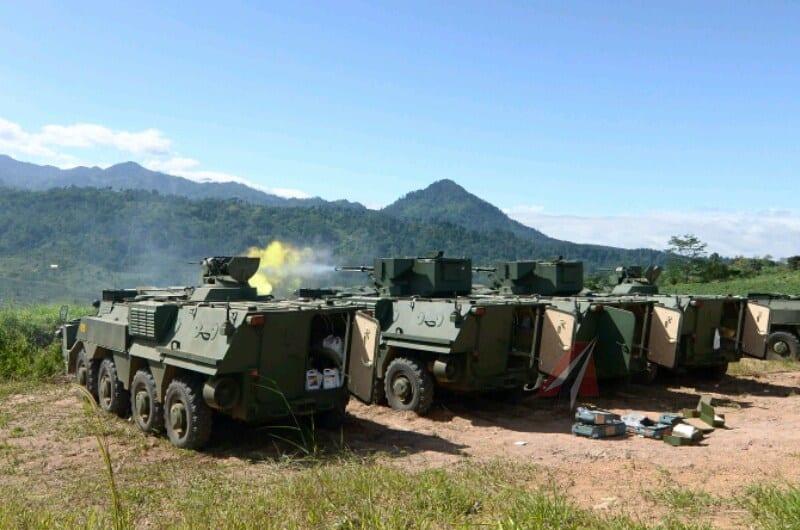 Вогневі випробування БТР-4М в Індонезії
