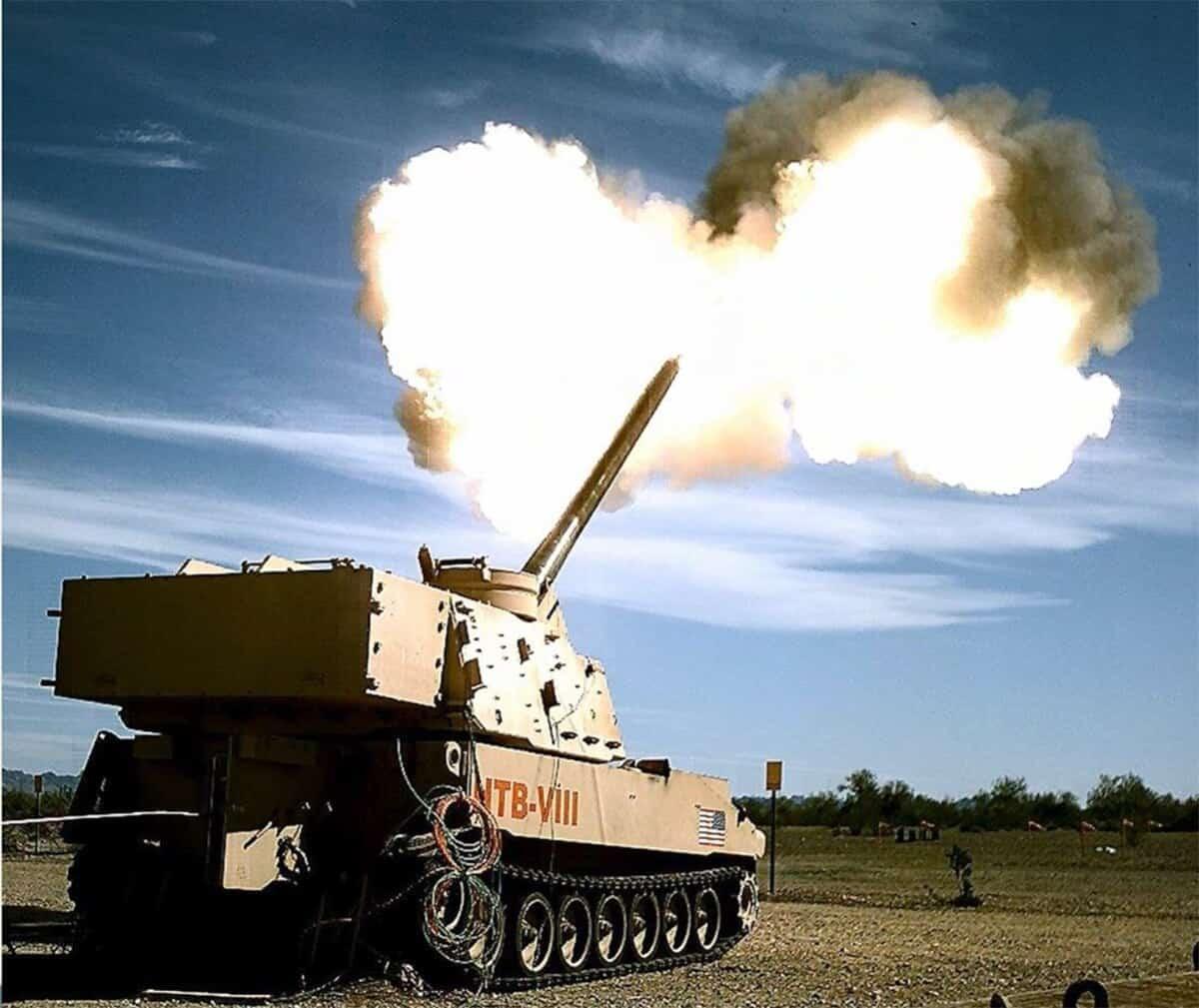 Випробування модернізованої за програмою ERCA САУ M109 Paladin