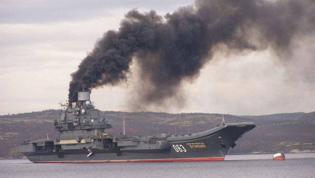 Так виглядав похід «Адмірала Кузнєцова»