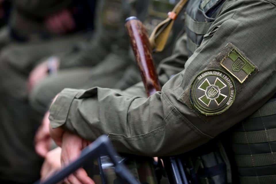 Національна Гвардія України. Фото: З відкритих джерел