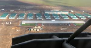 Міністр оборони перевірив будівництво на полігоні Широкий Лан